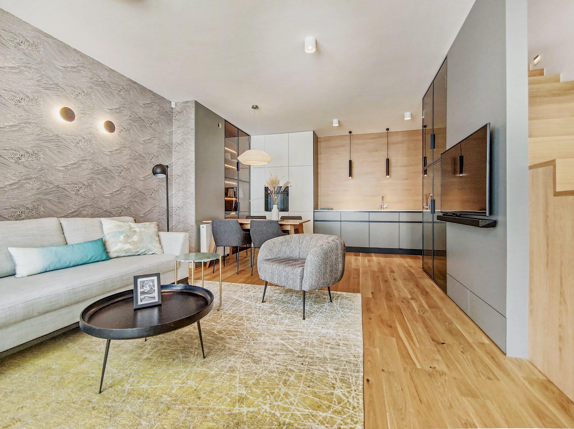 ORŁOWSKA RIWIERA - Apartament dwupoziomowy