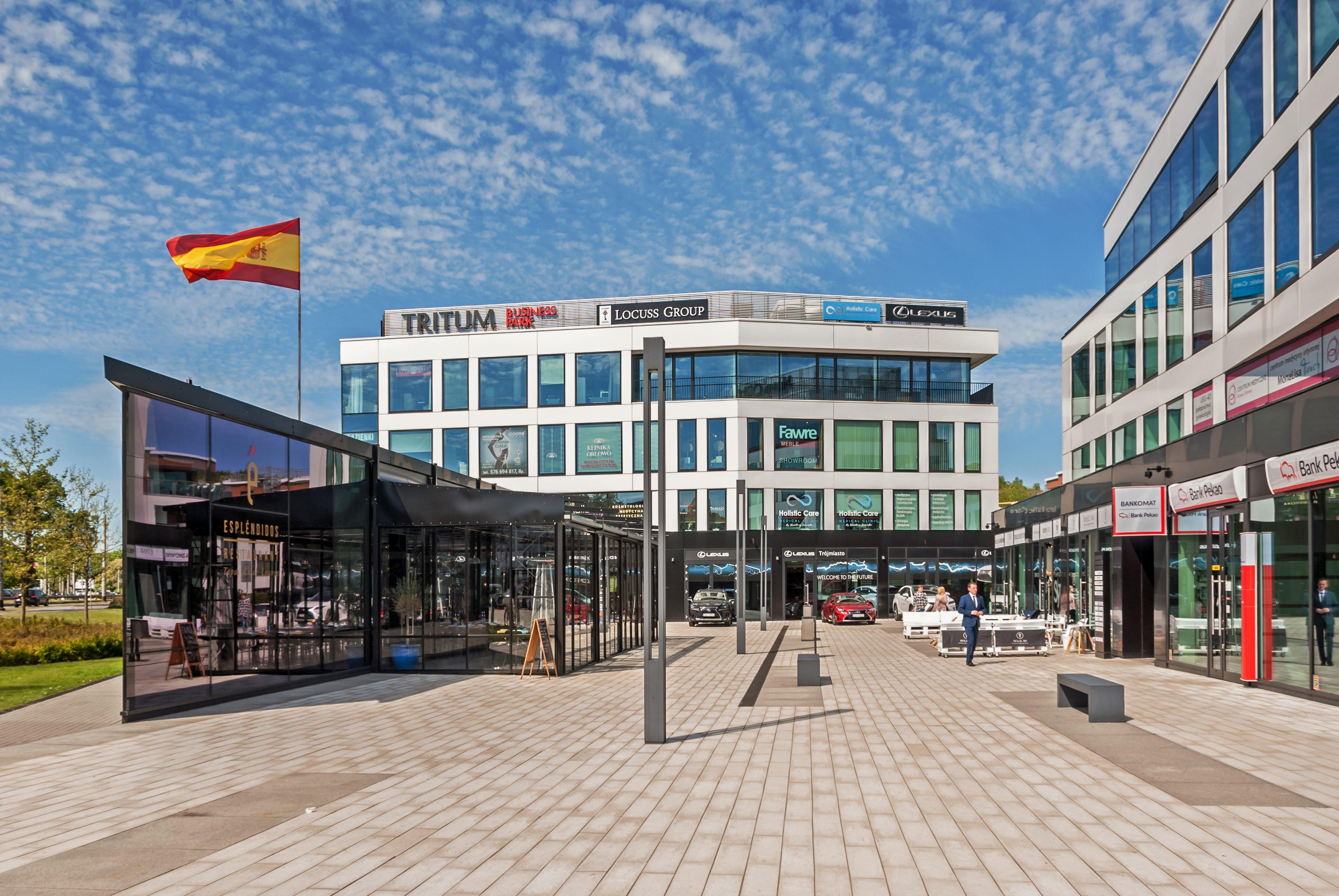 TRITUM Business Park - lokal usługowy
